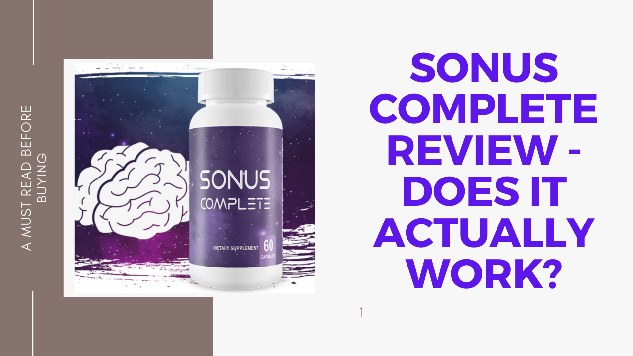 sonus complete for tinnitus amazon