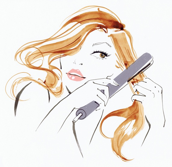 hair straightener for frizzy hair