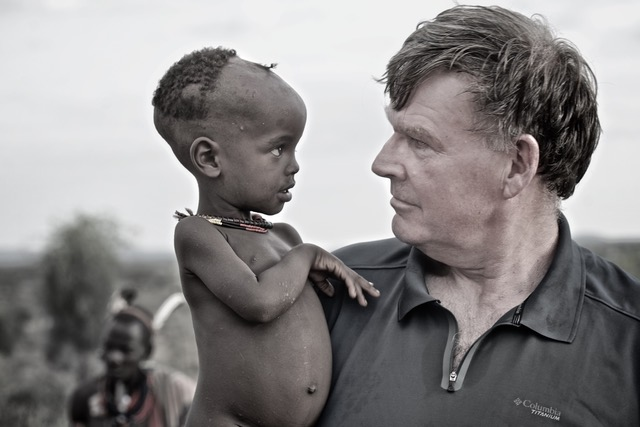 Mike Glad African child