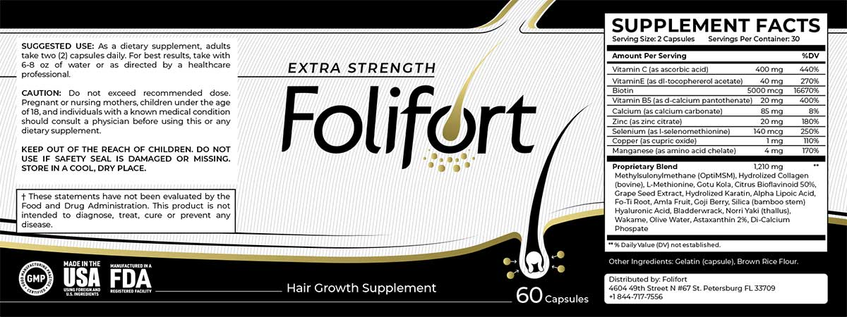 FOLIFORT-label