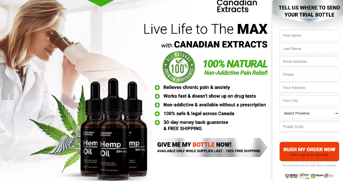 Canadian Extracts Hemp Oil For Whatever Is Pestering You!