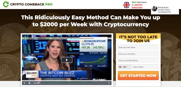 Crypto-Comeback-Pro