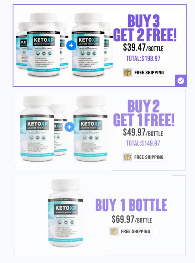 Keto-XP-Pricing