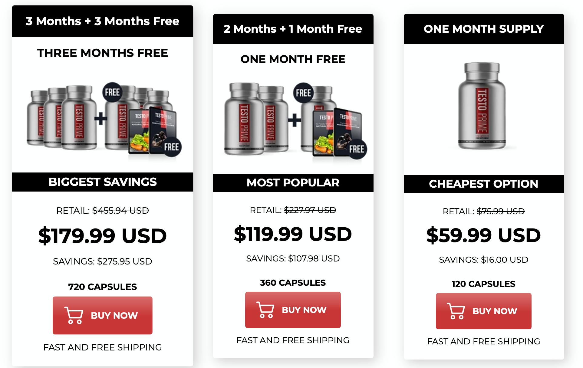 TestoPrime-price