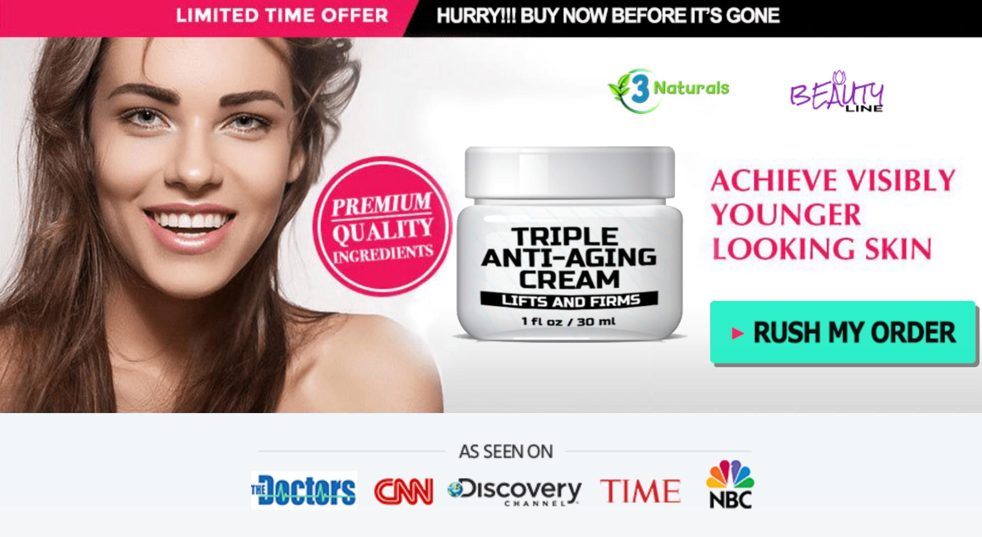 Triple Anti-Aging Cream