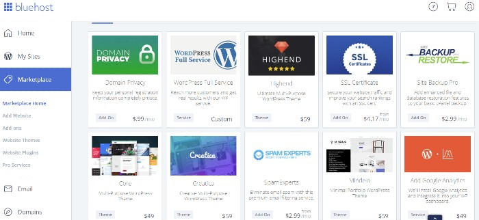 bluehost-marketplace