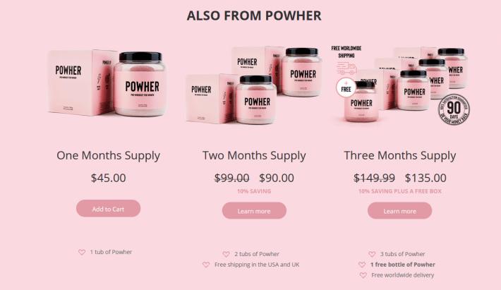 powher-price