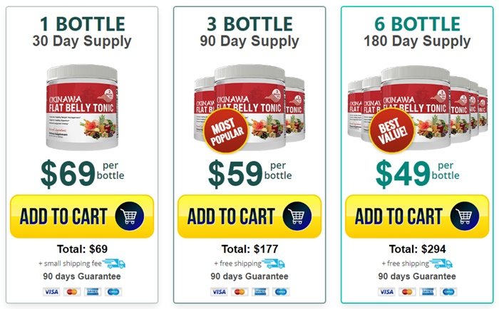 Okinawa Flat Belly Tonic Supplement - Price Discount Where to Buy Online