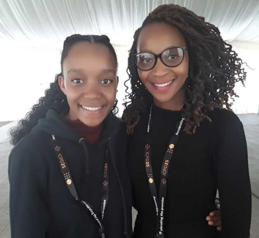 Michelle-Simon-18-years-LEFT-and-Botho-Mahlunge-19-both-youth-representatives-from-Botswana__-514x472