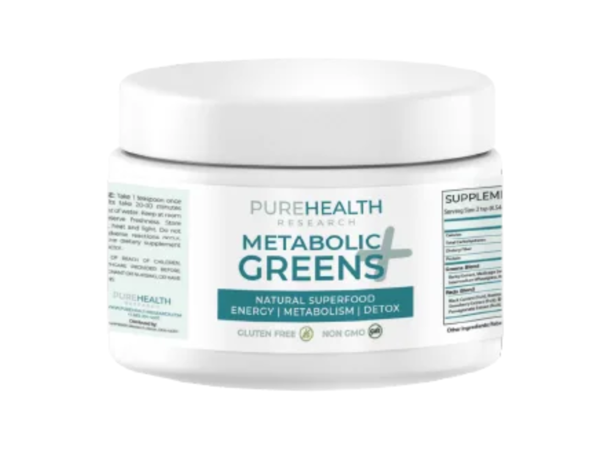 Metabolic-Greens-Plus-Reviews-Pure-Health-Research
