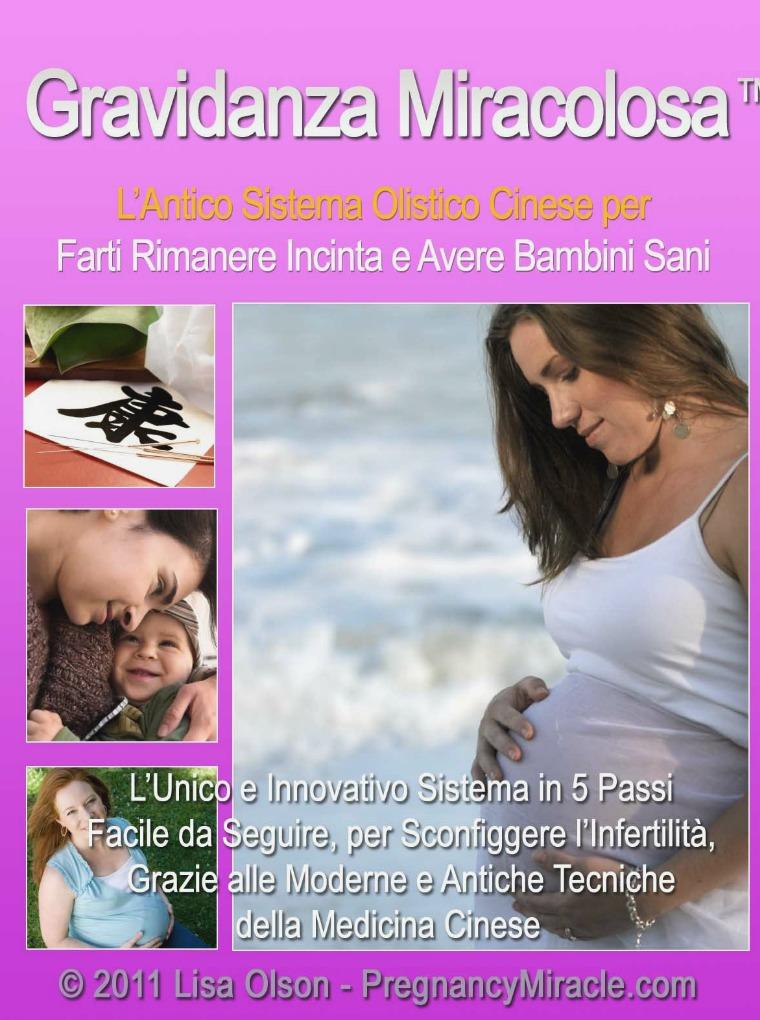 gravidanza miracolosa