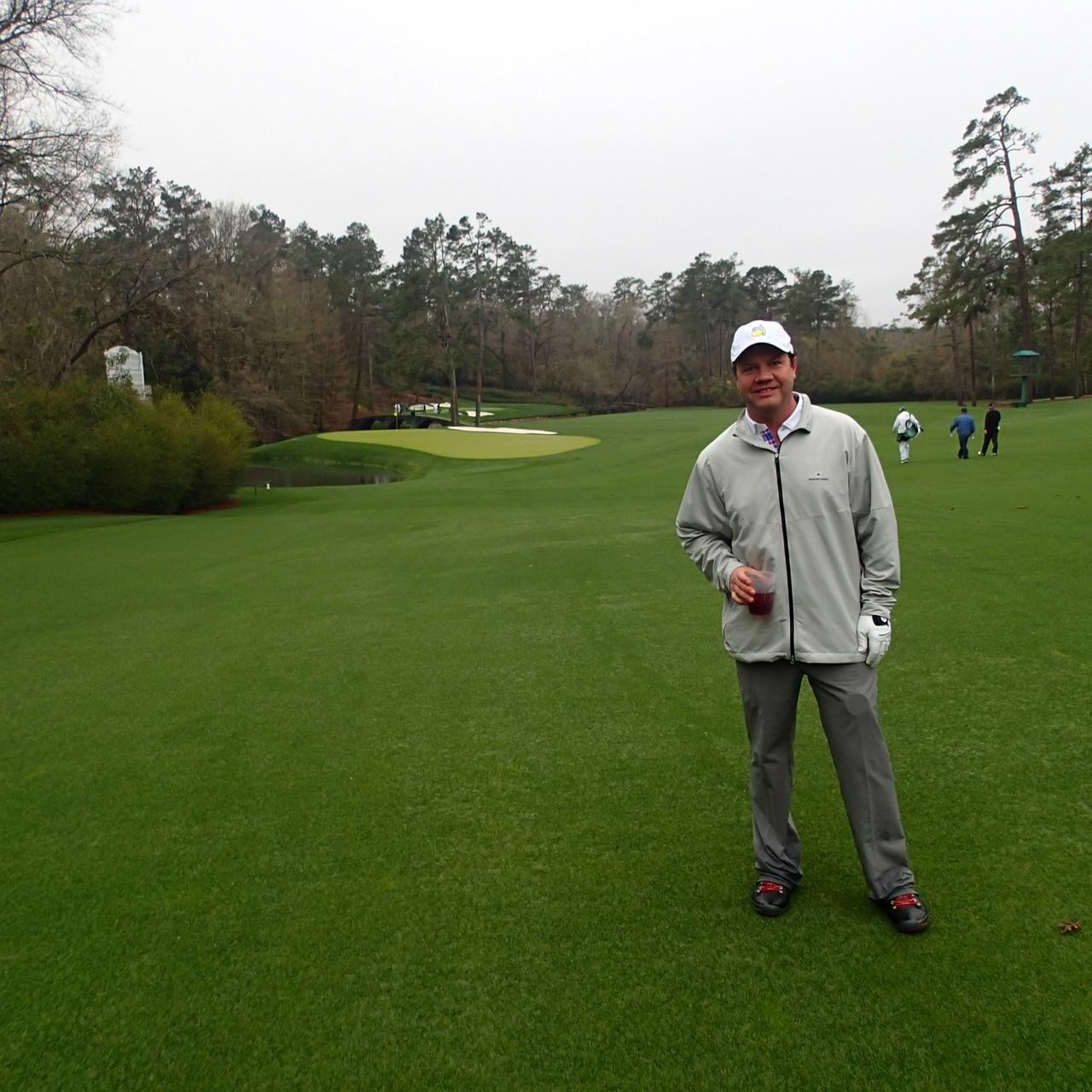 David Osborne Austin out golfing