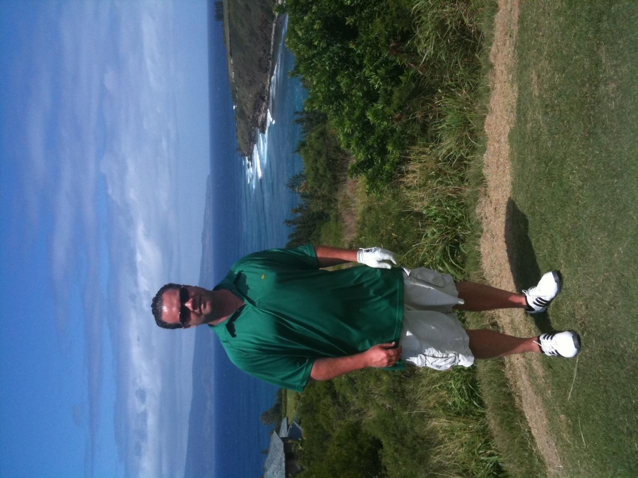 David Walter Osborne Golfing