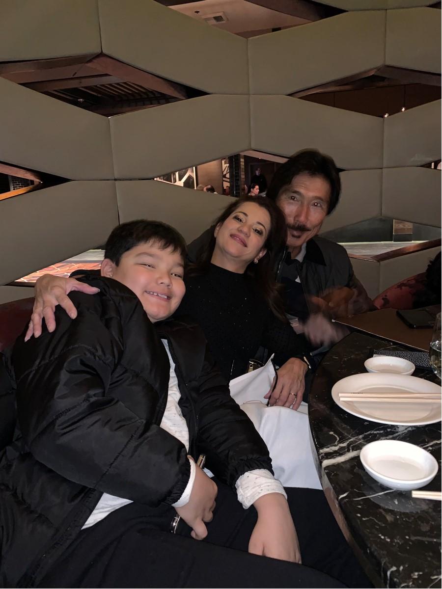 Glenn Haraguchi and family