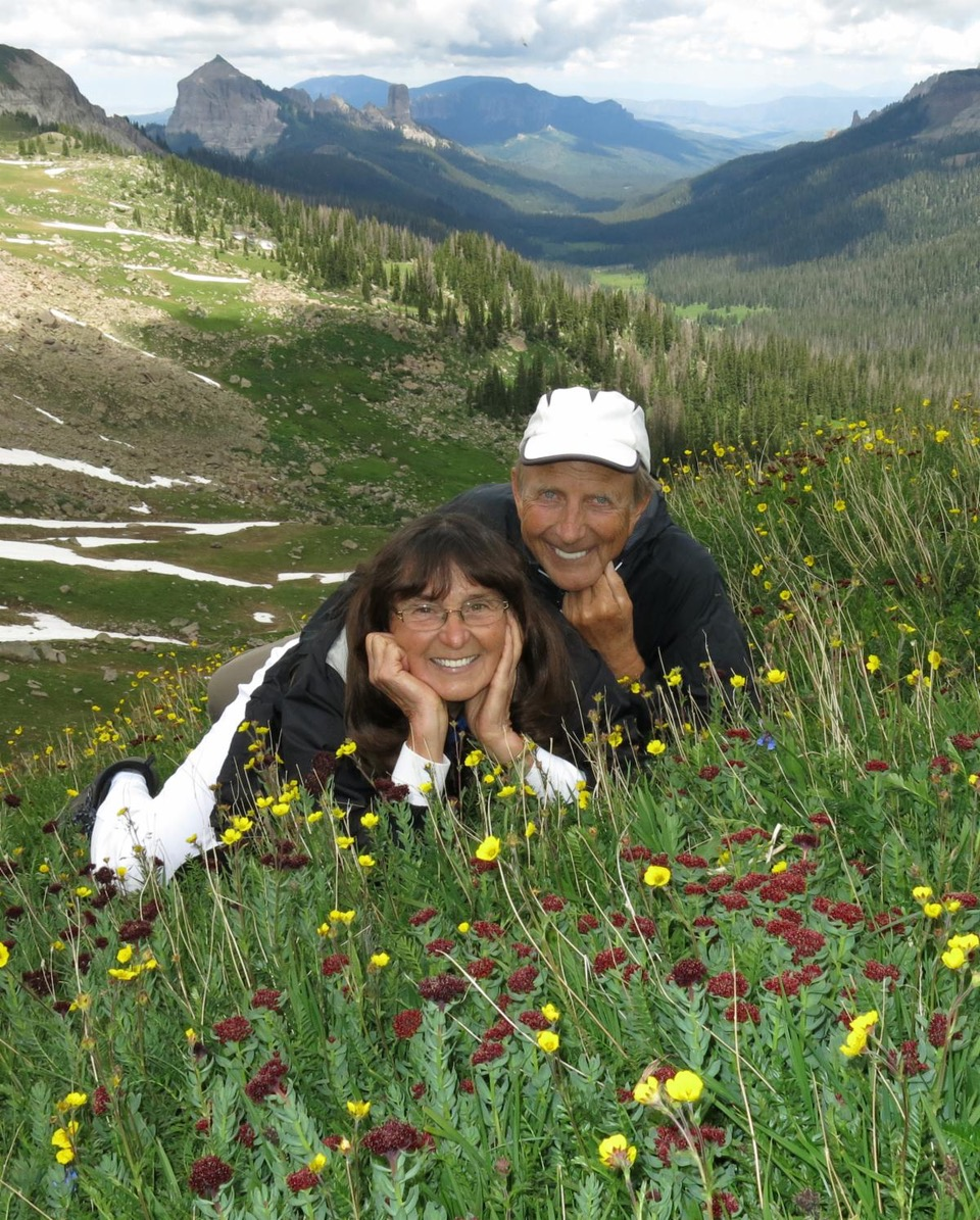 Jim Hohnberger and his wife Sally Hohnberger nature travelling