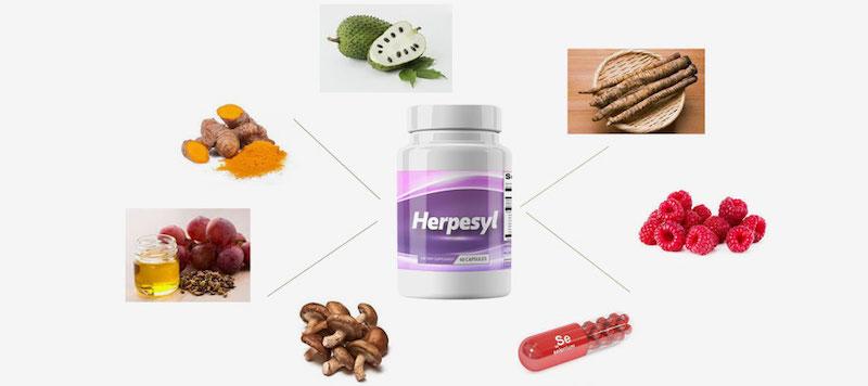 Herpesyl Ingredients