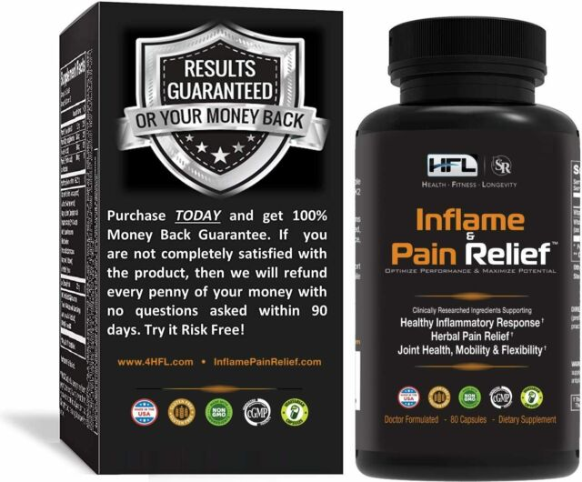 hfl inflamed and pain relief reviews